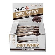 PhD Diet Whey Bar Dark Chocolate Mocha 12 x 65g