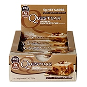 Quest Protein Bar Oatmeal Chocolate Chip 12 x 60g