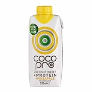 CocoPro High Protein Coconut Water with Pineapple 330ml