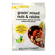 Holland & Barrett Mixed Nuts & Raisins 200g