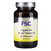FSC Liquid Gel Multi Vitamin & Mineral 60 Softgel Capsules