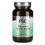 FSC Garlic Gems Odourless One-A-Day 100 Capsules