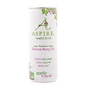 Aspire Apple & Acai Diet Health Drink 250ml