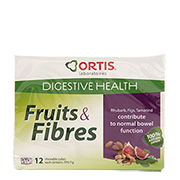 Ortis Fruits & Fibres Chewable Cubes Pack of 12