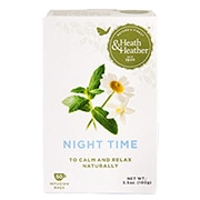 Heath & Heather Night Time 50 Tea Bags