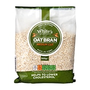 Whites Oat Bran Medium 500g