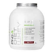 PhD Diet Whey Powder Belgian Chocolate 2000g