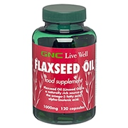 GNC Flaxseed 1000mg 120 Capsules