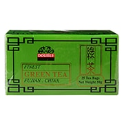 Double Dragon Organic Green Tea 25 Tea Bags