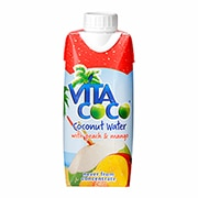 Vita Coco 100% Natural Coconut Water with Peach and Mango 330ml