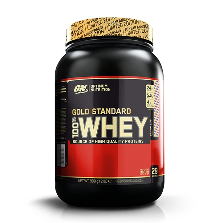 Prev Optimum Nutrition Gold Standard 100 Whey Powder Birthday Cake