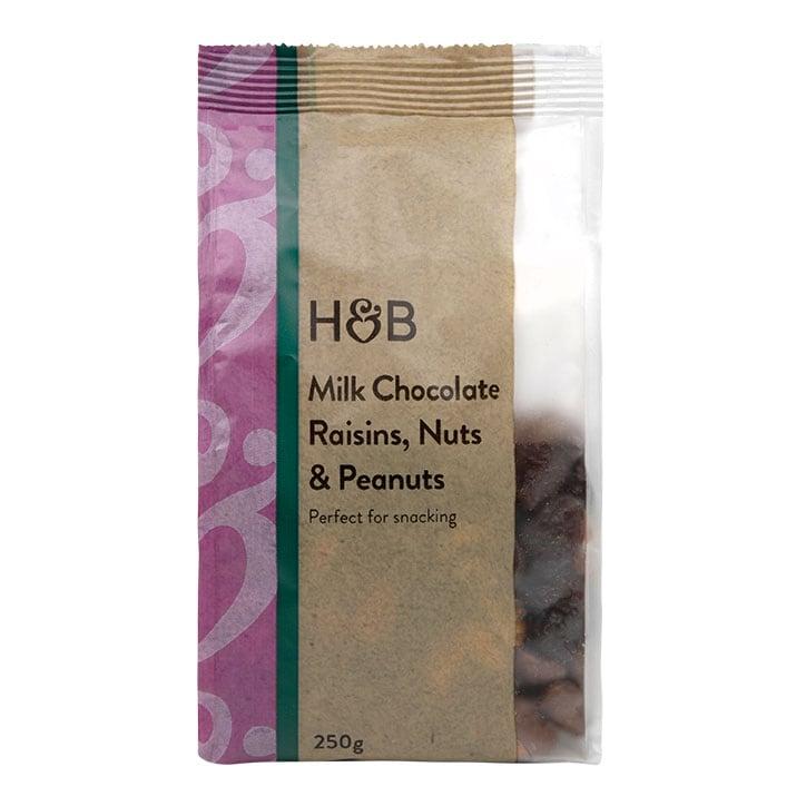 Holland & Barrett Milk Chocolate Fruit & Nut 250g