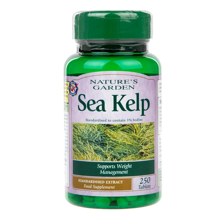 Natures Garden Sea Kelp Tablets 15mg 250 Tablets