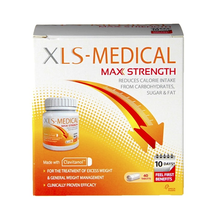 XLS Medical Max Strength 40 Tablets