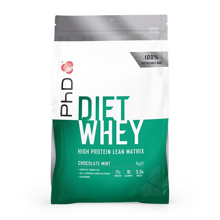 PhD Diet Whey Powder Chocolate Mint 1000g
