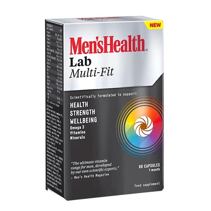 Men's Health Lab Multi-Fit 60 Capsules