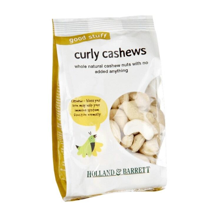 Holland & Barrett Whole Cashew Nuts 100g
