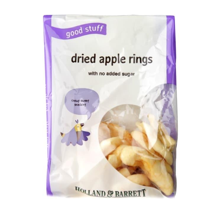 Holland & Barrett Dried Apple Rings 125g