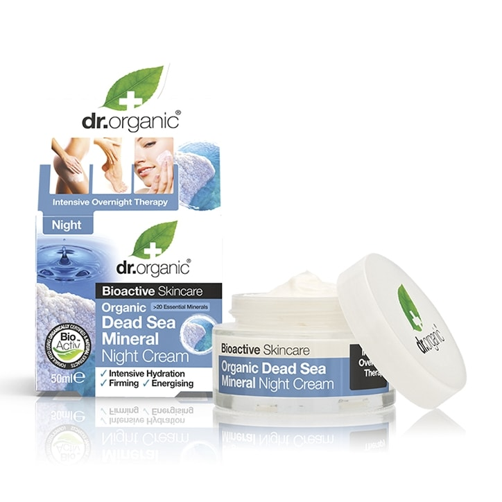 Dr Organic Dead Sea Mineral Night Cream 50ml