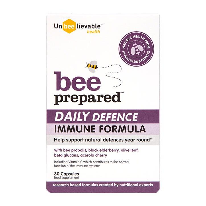 Unbeelievable Health Bee Prepared Daily Defence 30 Capsules