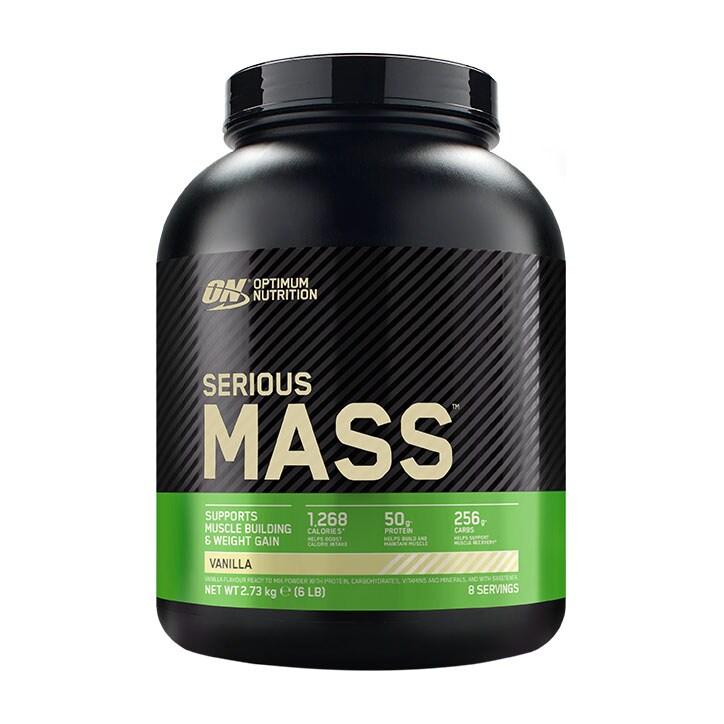 Optimum Nutrition Serious Mass Vanilla Powder 2700g
