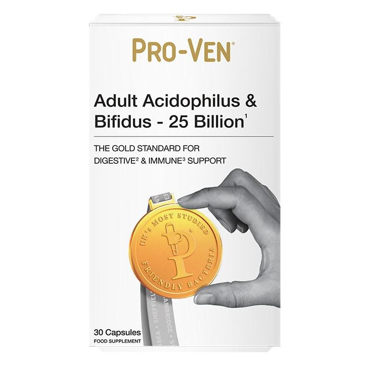 Pro-Ven Adult Acidophilus & Bifidus 30 Capsules