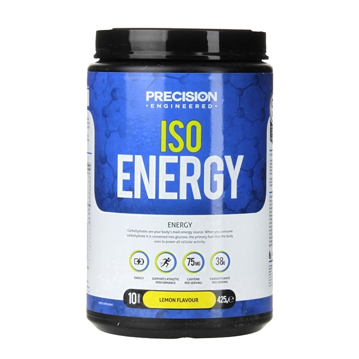 Precision Engineered Iso Energy Powder Lemon 425g