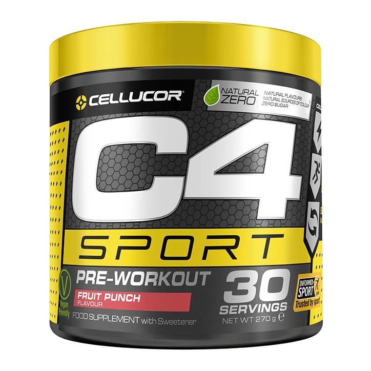 Cellucor C4 Sport Pre-Workout Fruit Punch 270g