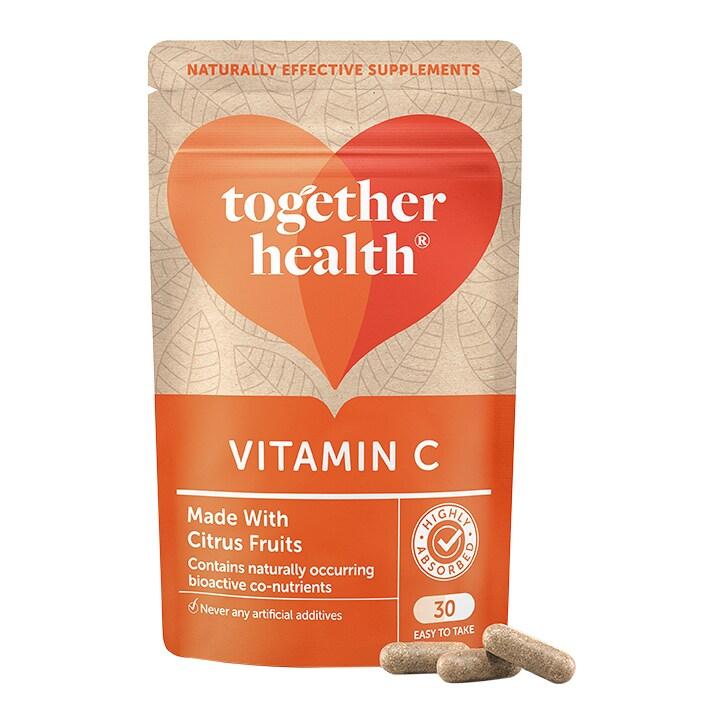 Together Health WholeVits Vitamin C 30 Capsules