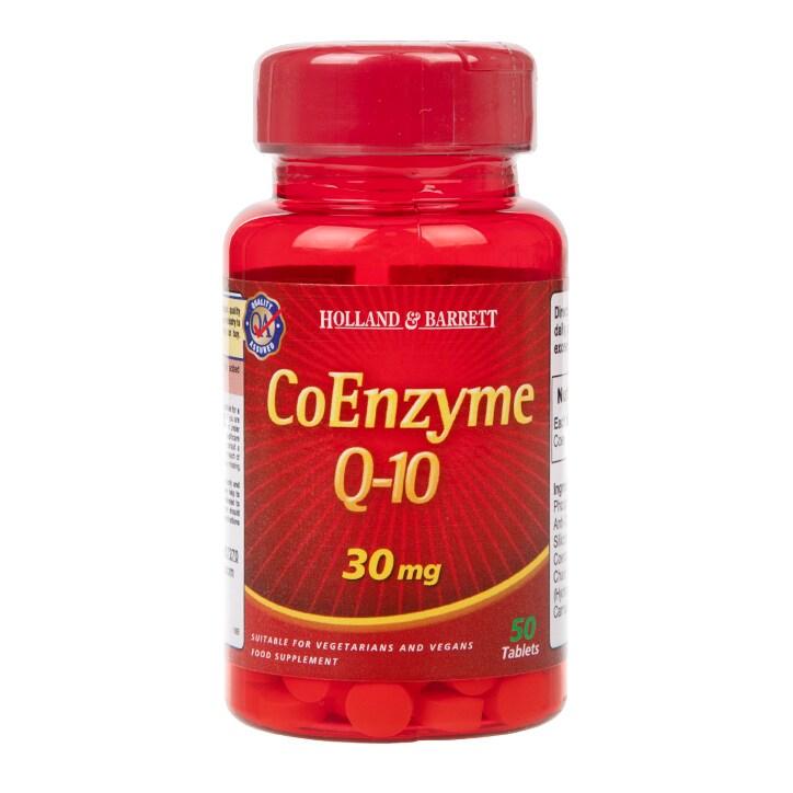 Holland & Barrett CoEnzyme Q-10 50 Tablets 30mg