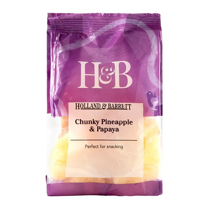 Holland & Barrett Chunky Pineapple & Papaya 250g