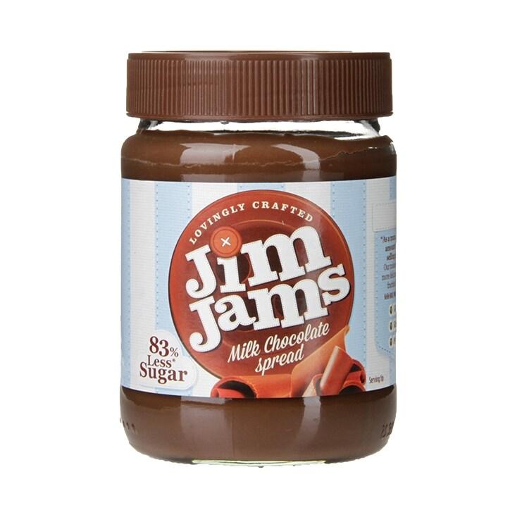 Jim Jams 83% Less Sugar Milk Chocolate Spread 350g