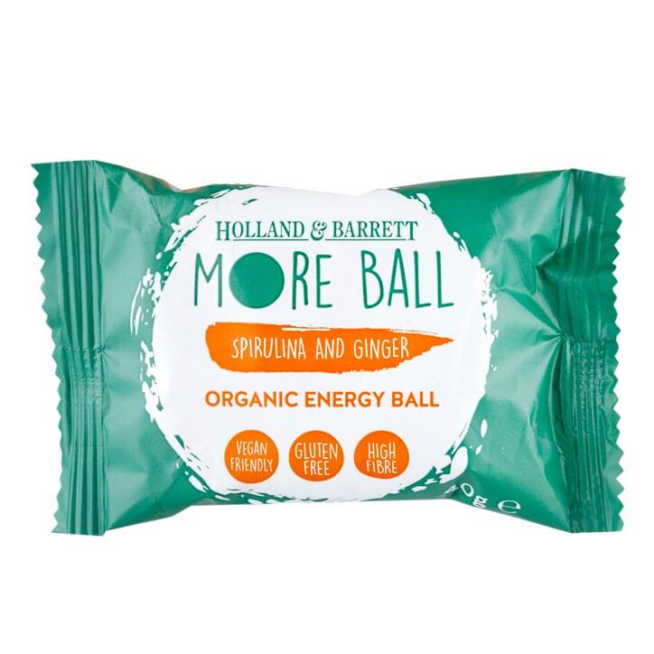 Holland & Barrett Spirulina & Ginger More Ball 40g