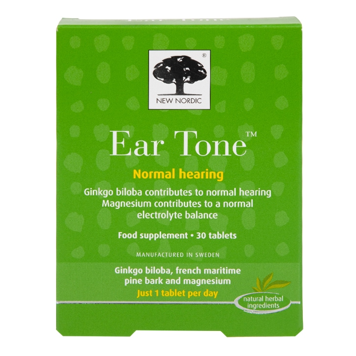 New Nordic Ear Tone 30 Tablets