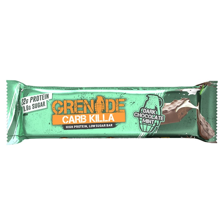 Grenade Carb Killa Bar Dark Chocolate Mint 60g