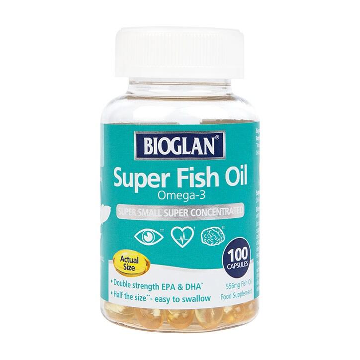 Bioglan Super Fish Oil 100 Capsules