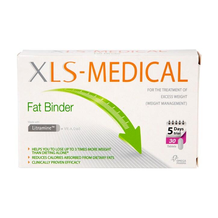 XLS Medical Fat Binder 30 Tablets