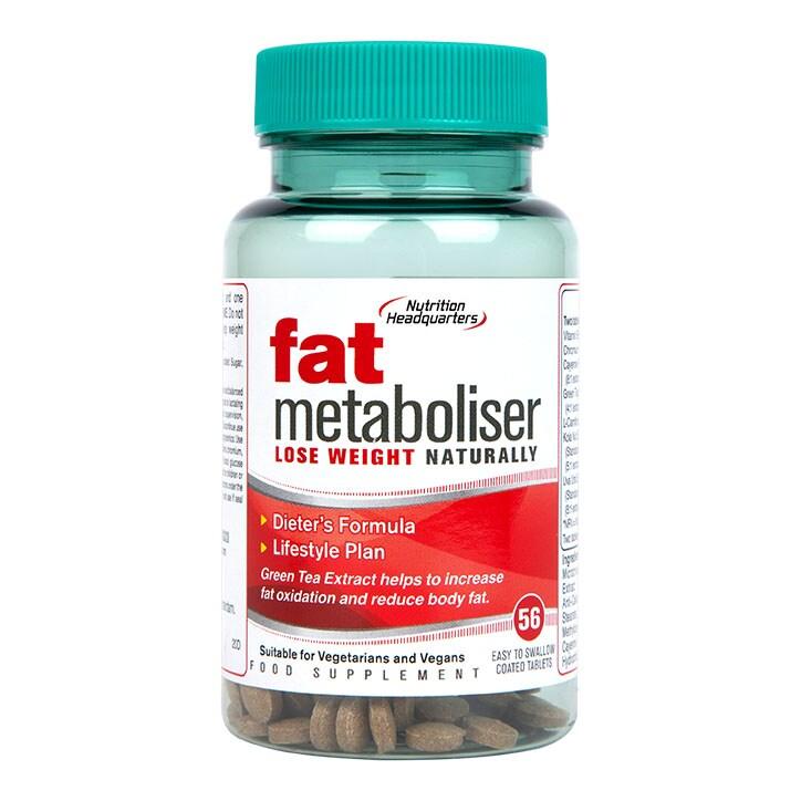 Nutritional Headquarters Fat Metaboliser 56 Tablets