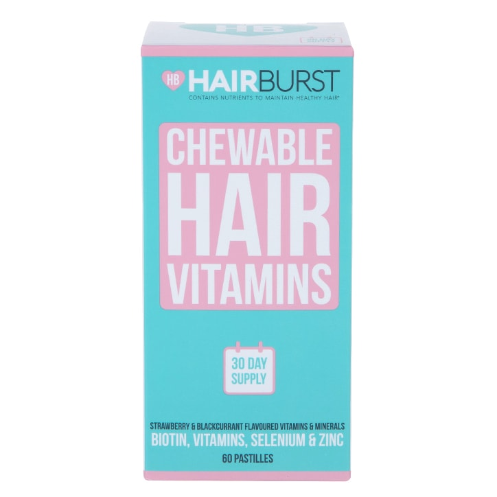 Hairburst Heart Hair Vitamins 60 Chewables 1 Month Supply