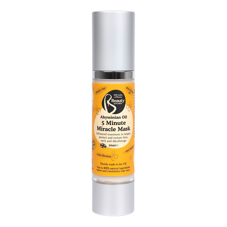 Beauty Kitchen Abyssinian Oil 5 Minute Miracle Mask 50ml