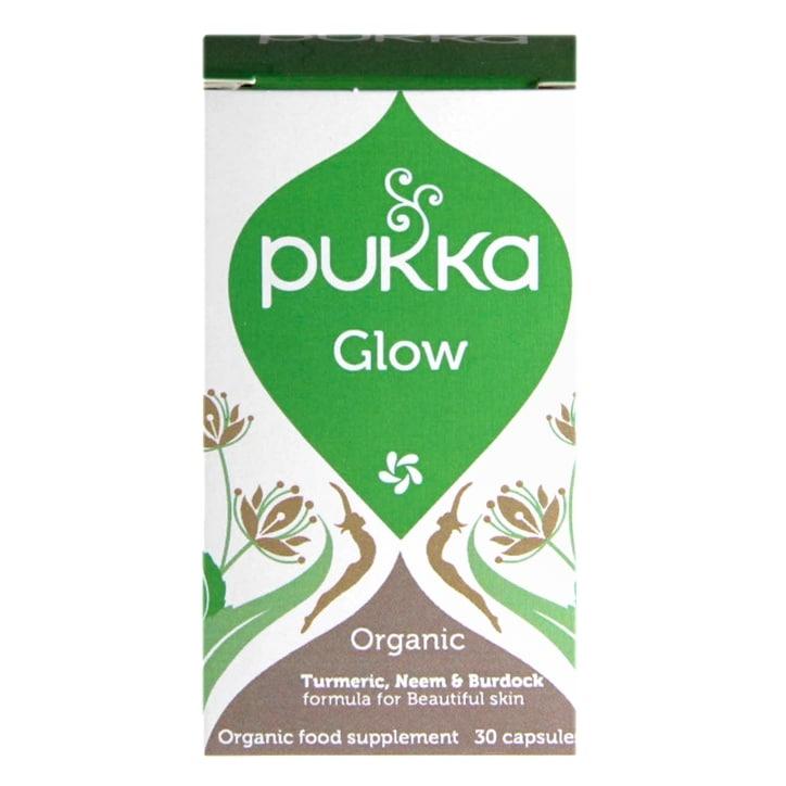 Pukka Glow Organic Supplement 30 Capsules