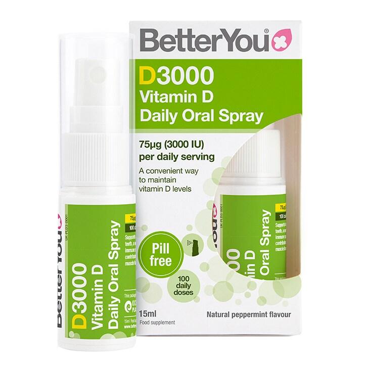 BetterYou Dlux 3000 Vitamin D Oral Spray 15ml