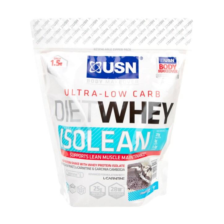USN Diet Whey Isolean Cookies & Cream 1kg