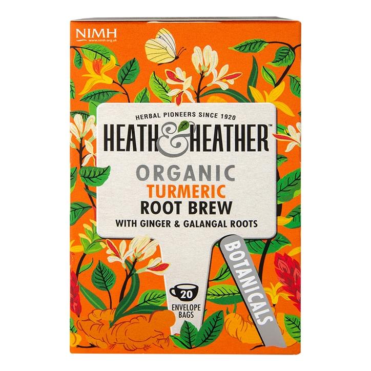 Heath & Heather Organic Root Remedy 20 Tea Bags