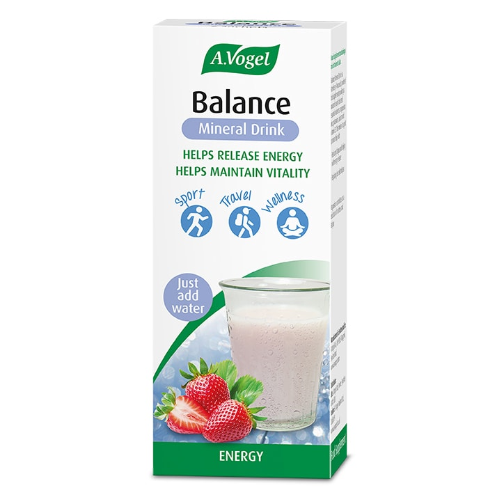 A.Vogel Balance Mineral Drink – 7 Day Sachets Strawberry Flavour