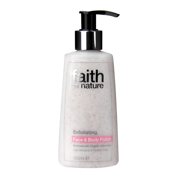 Faith in Nature Exfoliating Face and Body Polish 150ml