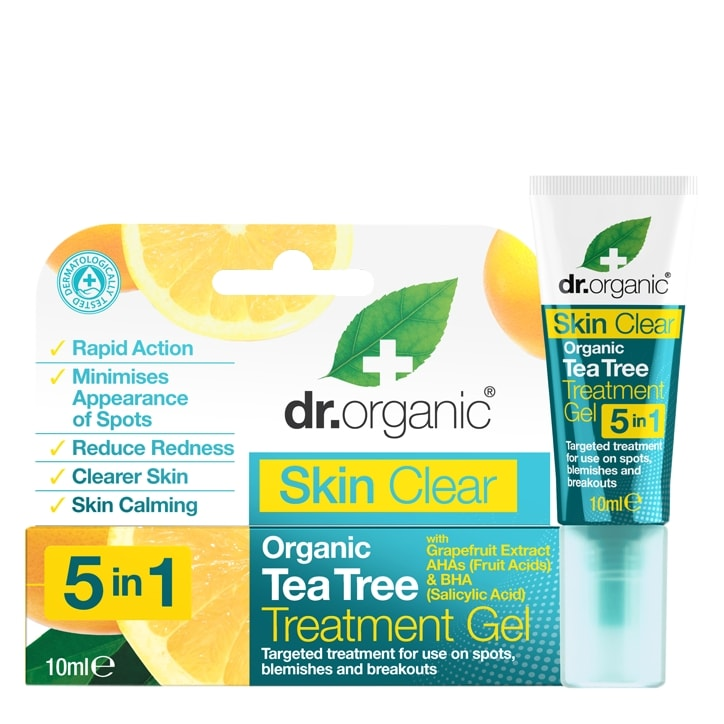Dr Organic Skin Clear Treatment Gel 10ml