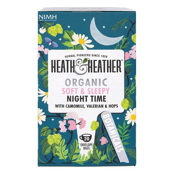 Heath & Heather Organic Night Time 20 Tea Bags