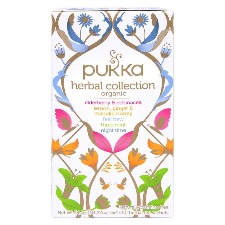 Pukka Herbal Collection 20 Herbal Tea Sachets