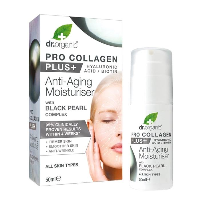 Dr Organic Pro Collagen Plus Black Pearl 50ml